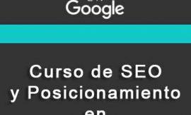 Descargar Curso de seo posicionamiento en google