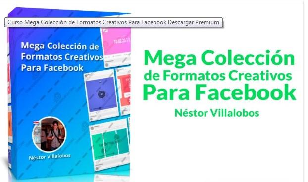 Mega colección de formatos creativos para Facebook