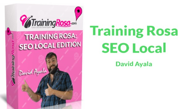 Curso SEO local Training Rosa David Ayala