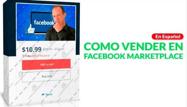 Como vender en Facebook marketplace