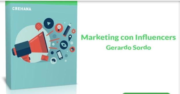 Marketing con Influencers gerardo sordo