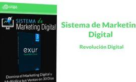 Sistema de Marketing Digital Revolución digital