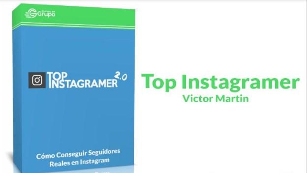 Top Instagramer Víctor Martín.