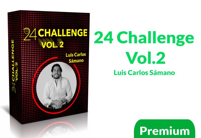 Curso 24 challenge Vol.2 Luis Carlos Samano