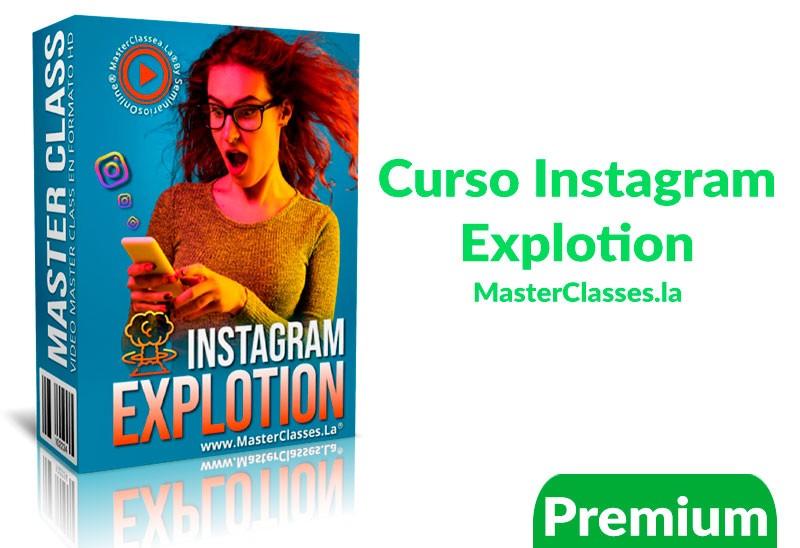 Curso Instagram explotion – Masterclasses.la