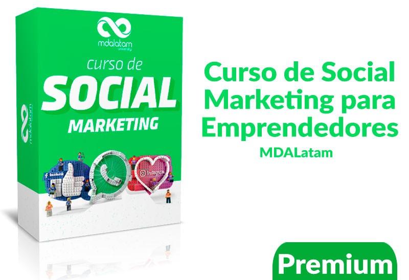 Curso de Social Marketing para Emprendedores -MDALatam