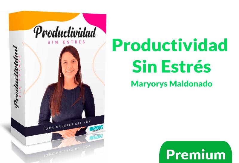 Curso productividad sin estrés por Maryorie Maldonado