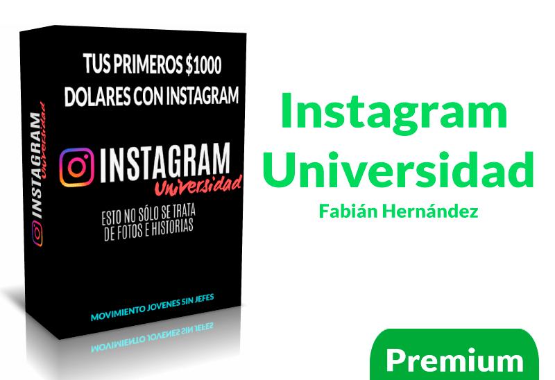 Instagram Universidad Fabian Hernandez